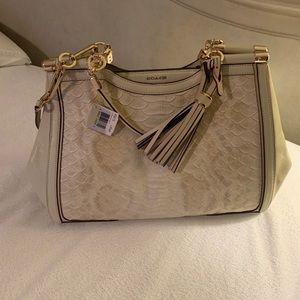 **New Listing- NWT Authentic Coach Cream Handbag